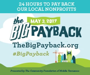 Gilda's Club Middle Tennessee cancer support Nashville Big Payback Community Foundation