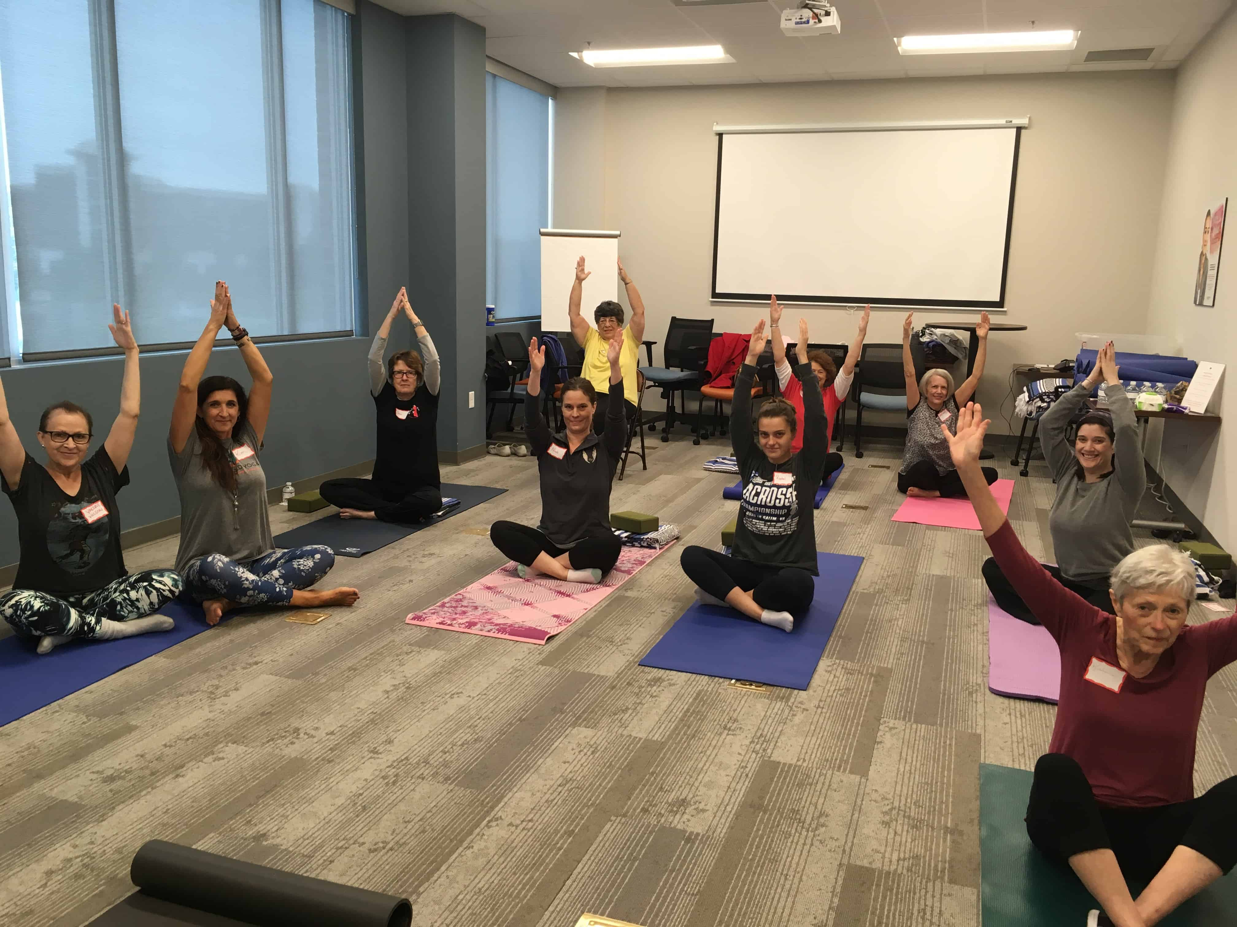 Gilda's Club Middle Tennessee Nashville free cancer support yoga health and wellness